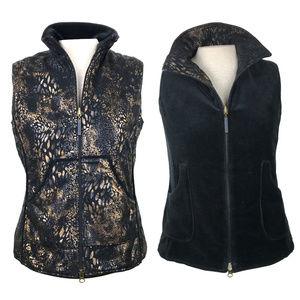 Bianca Nygard Weekend Reversible Velour Vest 6